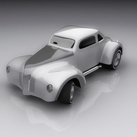3ds max hot rod