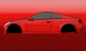 3d 3dm infiniti g35 coupe
