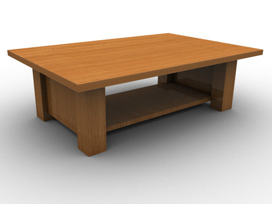 oak table modern coffee max