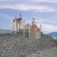 neuschwanstein castle 3d model