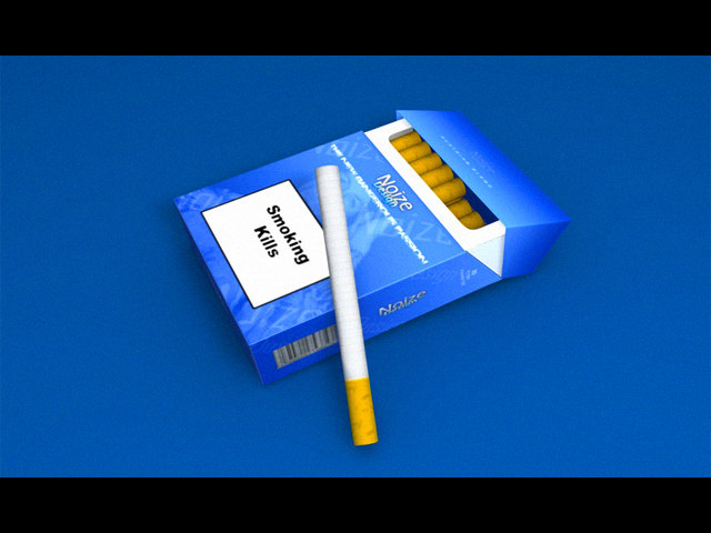 3ds max packet cigarettes