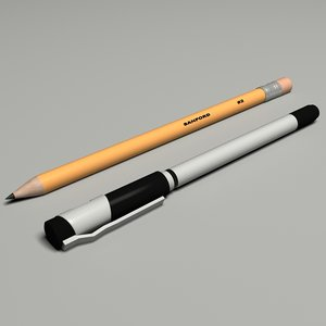 3d pen pencil set model