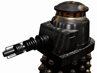 free heavy weapons darlek 3d model