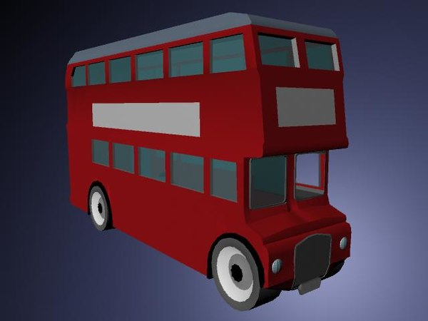 3d model of london routemaster bus