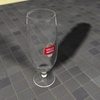 3ds max belgian beer glass