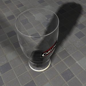 guinness glass 3d model