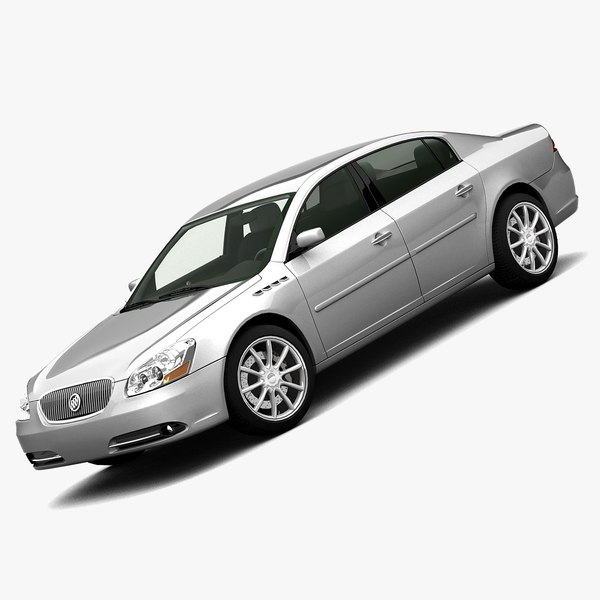 3ds max buick lucerne 2007