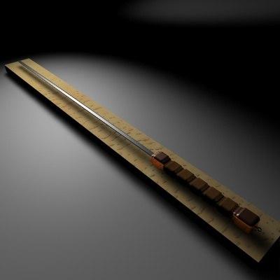 sumarai sword 3d model