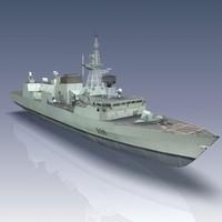 Halifax Class Patrol Frigate