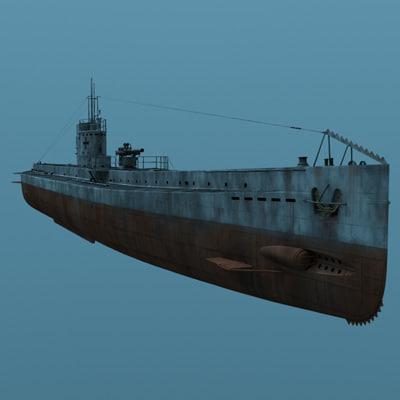 sub u35 3d model