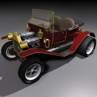 3d car vehicle model