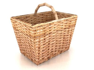 3ds max basket
