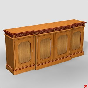 3ds max sideboard cabinet