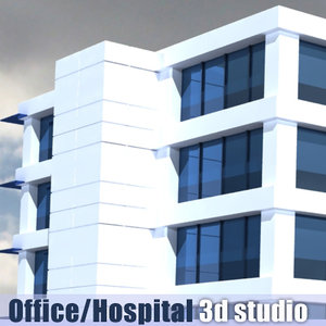 3ds office building hospital