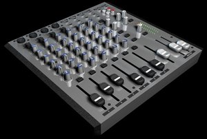 3ds max mixing board