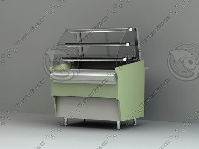 buffet 3d model