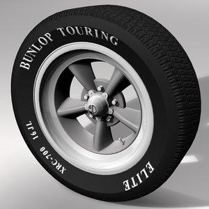 3d model mag tire
