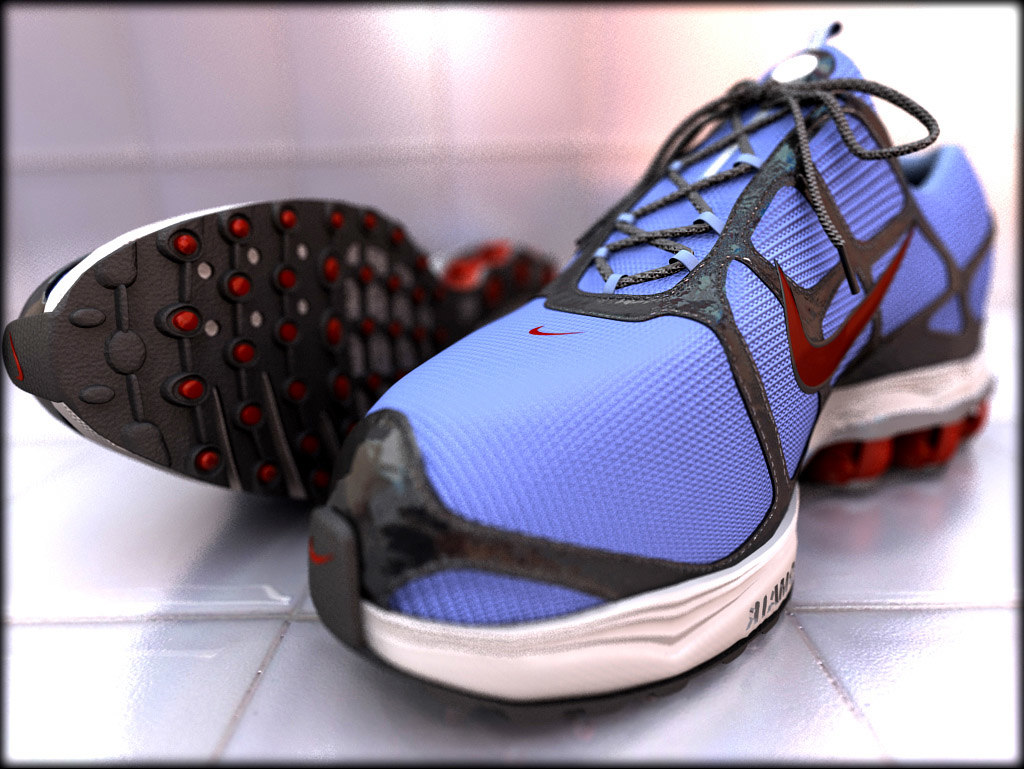 sneakers shoes 3d model
