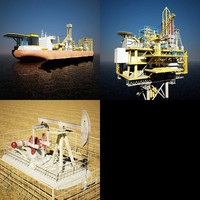 Oil Instalations Collection