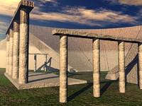 Ampitheater Coliseum  Arena