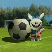 maya bunny football
