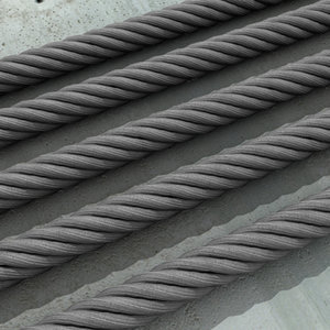 coiled metal wire 3d model