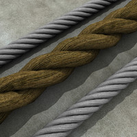 Coiled Wire + Rope