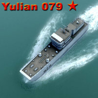 yulian landing assault 3d model