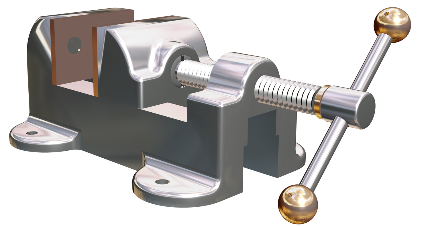 3dsmax vice clamp