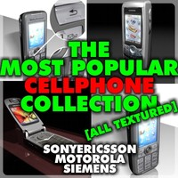3ds max popular cellphones cell phone