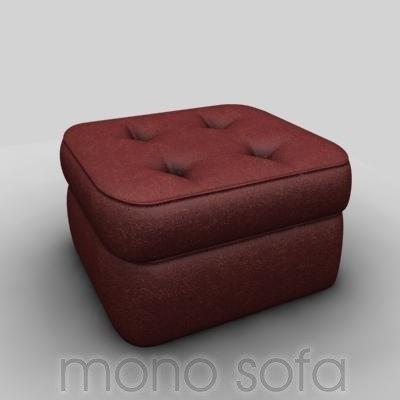 maya mono sofa leather