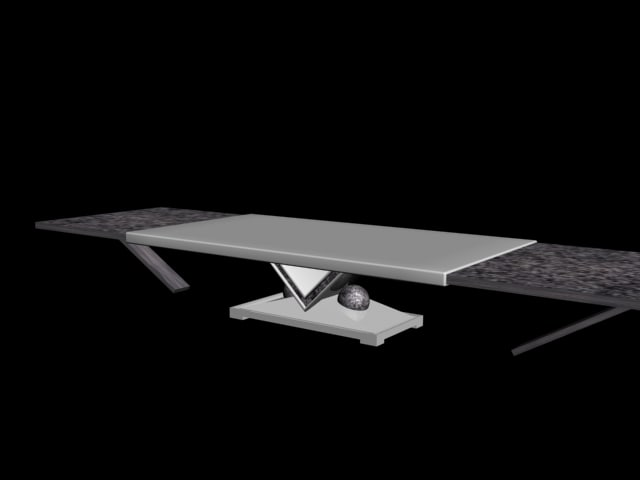free table 3d model