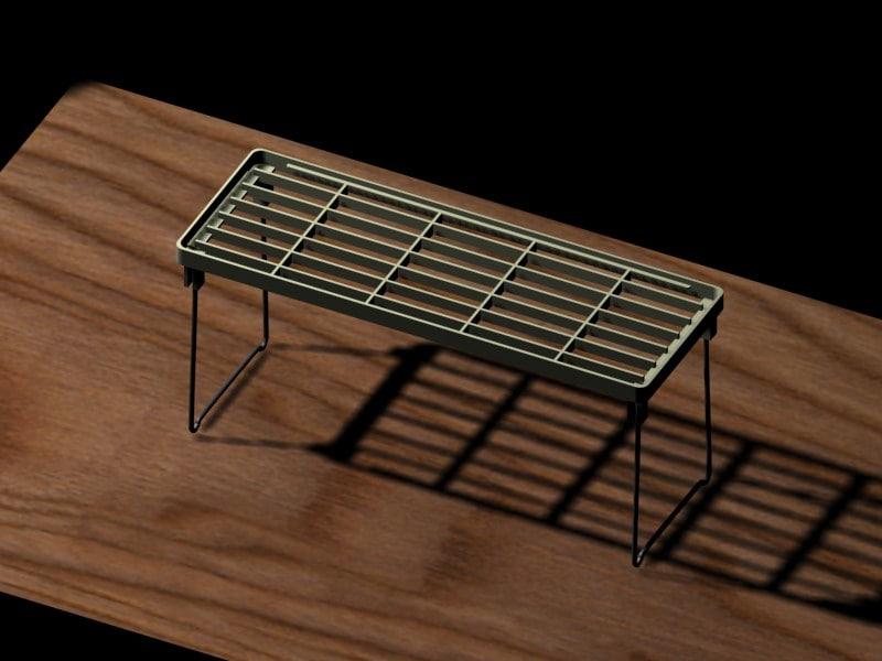 daiso table 3d model