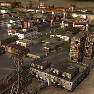 buildings games oil 3d 3ds