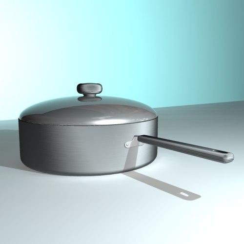 3d model pan circulon