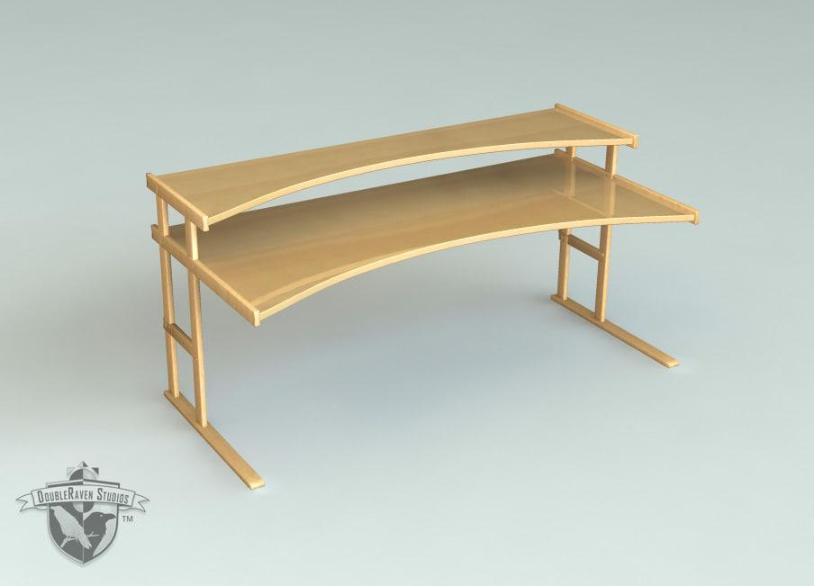 3d desk drs