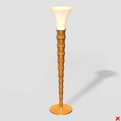 3ds max lamp standing