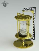 3d hourglass drs model