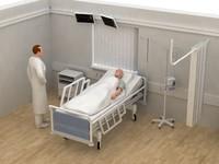 ICU hospital unit