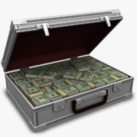3dsmax cash suitcase