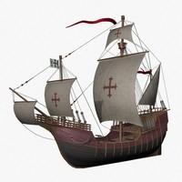 lwo columbus ship santa maria