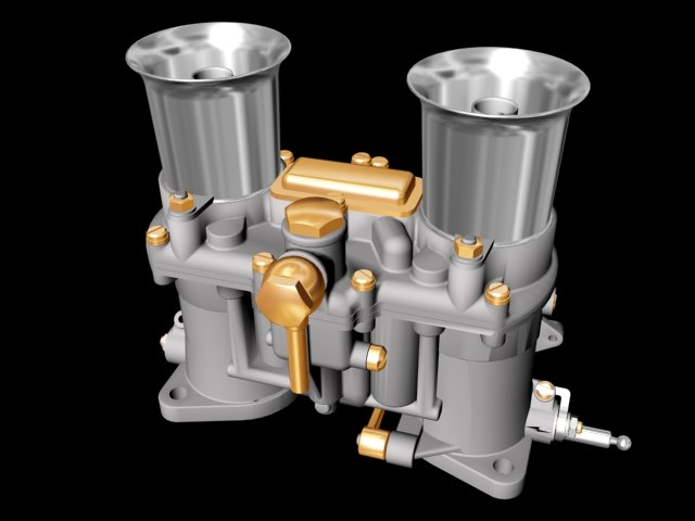 3ds max carburator engine