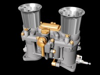 3d carburetor engine