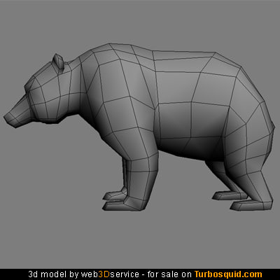bear obj