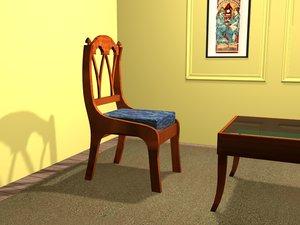 biedermeier chair max