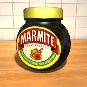 3d marmite jar