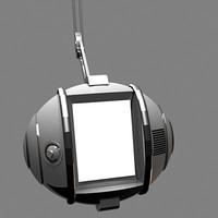 robot screen 3d max