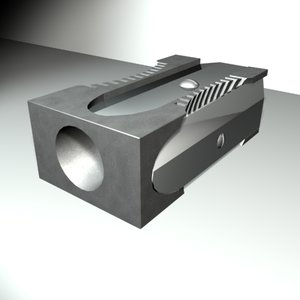 3d model pencil sharpener