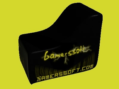 l shaped paintball bunker 3d model