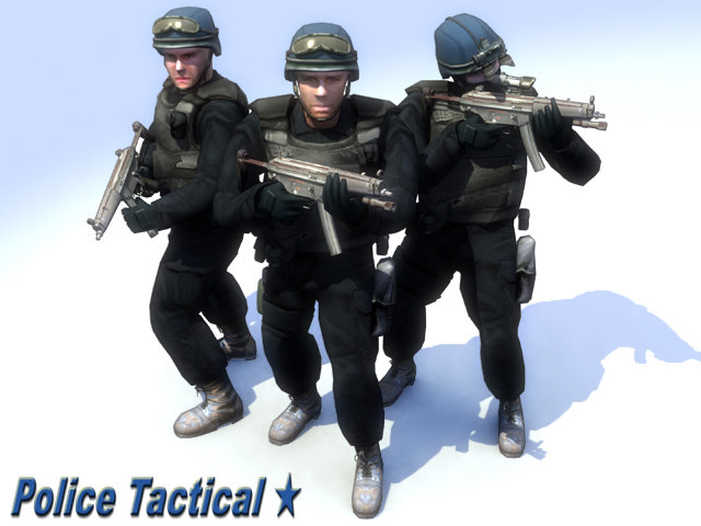 lwo swat police officers